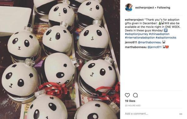 panda ornaments